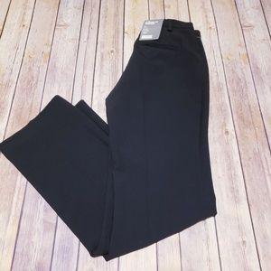 GAP classic fit trouser stretch black dress pants